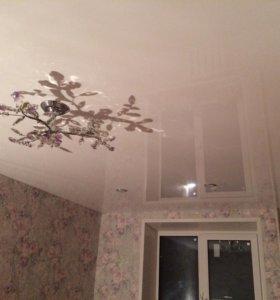 Натяжные и тканевые потолки