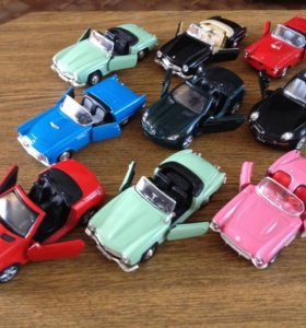 Машинки модельки