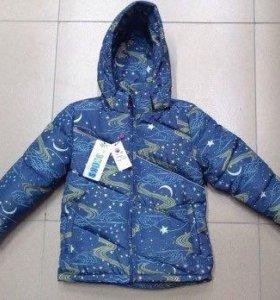 Новая зимняя куртка рост 98-104