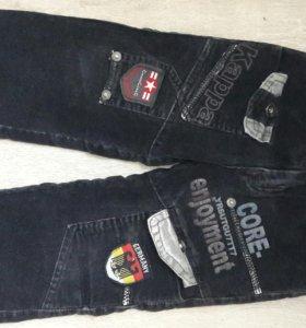 Теплые штаны 92р