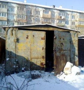Гараж металлический ленинградская 23