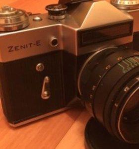 Фотоаппарат плёночный Zenit-E