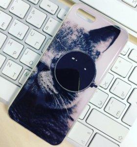 Накладка силиконовая для Apple iPhone 5/5S/SE