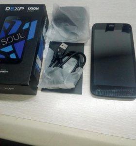 3G смартфон dexp 5 дюймов