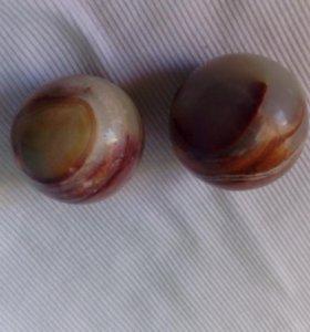 Каменные шарики для рук