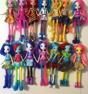 Кукла пони Equestria girls