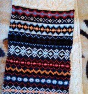 Теплый,мягкий шарф