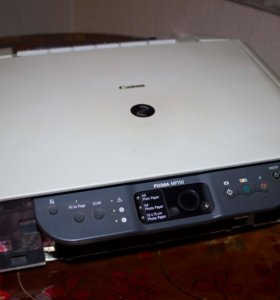 Принтер Canon MP150, вставлен нов. черный картридж