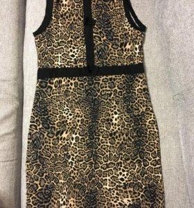 Новое трикотажное платье р 46