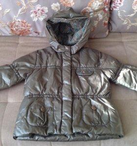 Тёплая куртка Catimini, 4 года
