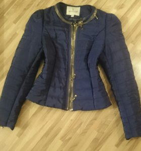 Курточка синяя