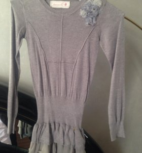 Платье +кофта. 9-10 лет
