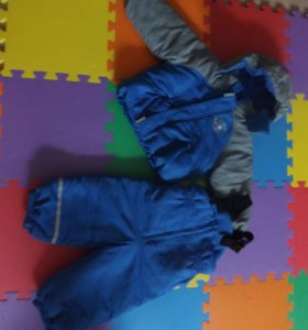 Зимний комплект комбез + куртка