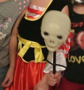 Новогодний костюм пиратки 5-8 лет