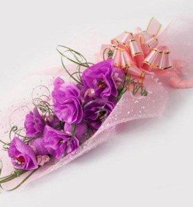 Конфеты в цветах