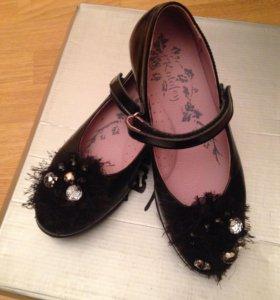 Туфли для девочки kotofei