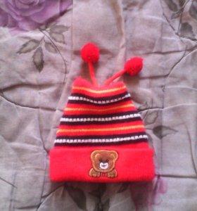 Детская шапочка на осень - весну