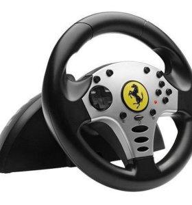 """Игровой руль """"Ferrari thrustmaster"""""""