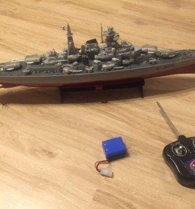 Корабль на радиоуправлении