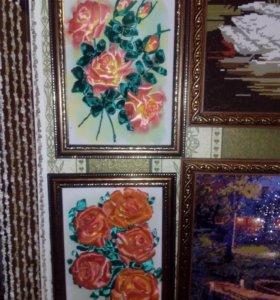 Картины из алмазки