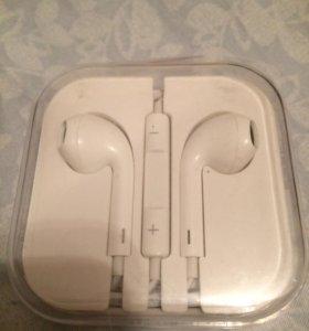 Наушники iPhone 5, 5s