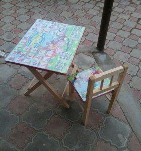 Детские комплекты стол и стул