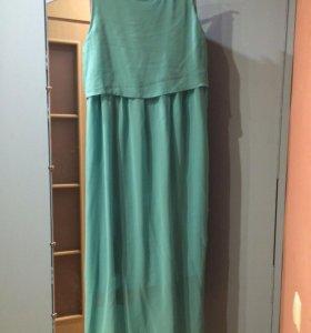 Платье в пол Aliexpress 48 размера