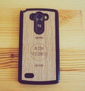 Чехол на телефон из дерева