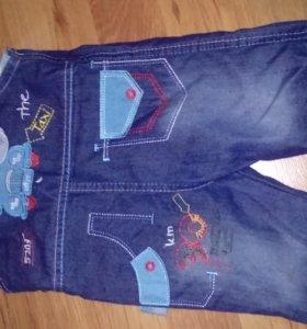 Комбинезон на мальчика джинсовый