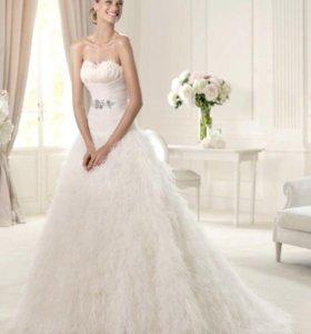 Эксклюзивное свадебное платье Pronovias