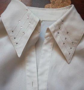 Блузка белая. 44-46