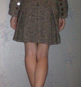 Стильное приталенное пальто р.40-46