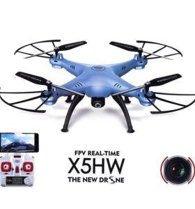 Квадрокоптер Syma X5HW с барометром c Wi-Fi FPV