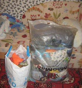Пакет детских вещей на мальчика от 2-х лет.