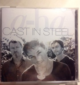 CD диск A-ha .Cast in steel 2015