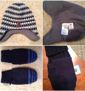 Reima шапка на флисе на 52
