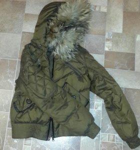 Тё-е-еплая куртка пуховик