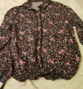 Блузка на резинки