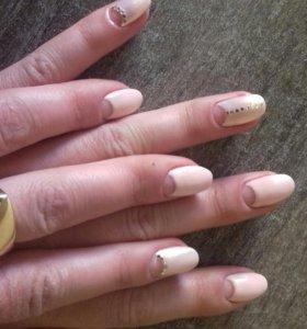 Маникюр,педикюр,наращивание ногтей.