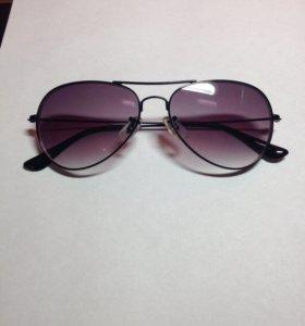 Затемнённые очки на минус 3