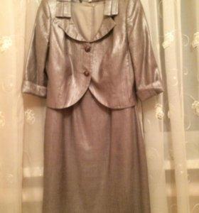 Нарядное платье с болеро!