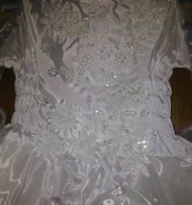 Платье для девочки 4-5 лет