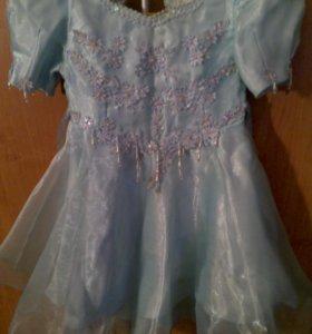 Платье рост 122