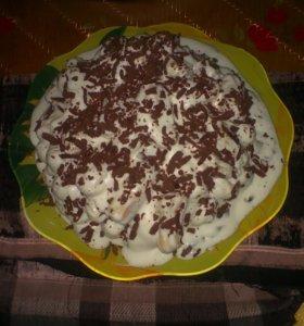 Тортики и любые выпечки