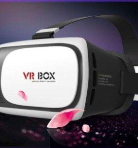 3D очки VR-Box 2.0, Наушники, пульт.