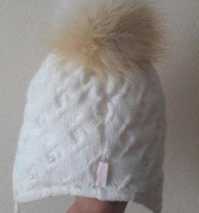 Зимняя шапочка размер 50