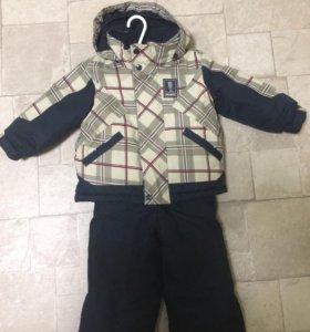 Зимний костюм GUSTI + варежки