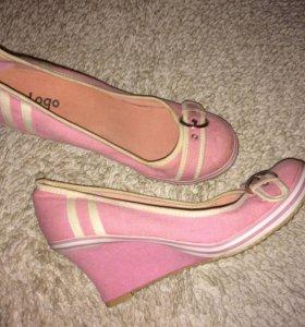 Туфли текстиль🌸