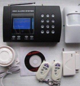Комплект GSM сигнализации с датчиком температуры