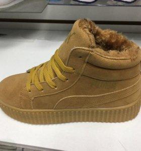 Новые зимнии ботинки!!!